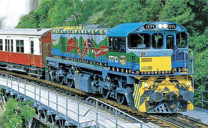 キュランダ鉄道でキュランダまで行く方法
