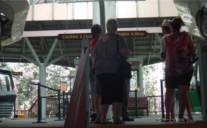 スカイレール レッドピーク駅